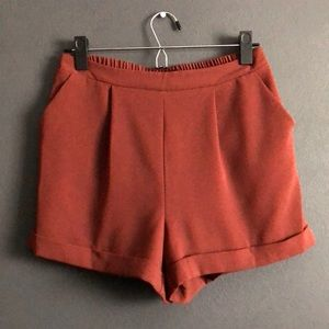 Forever 21 | Rusty Red Brown Shorts Size Medium